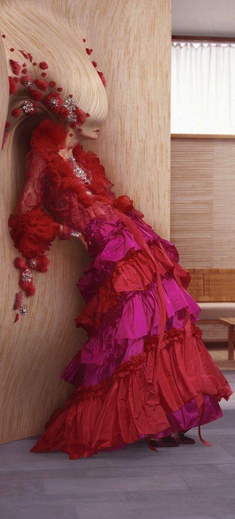 Atrévete con la combinación Rosa/Rojo - Christian Lacroix