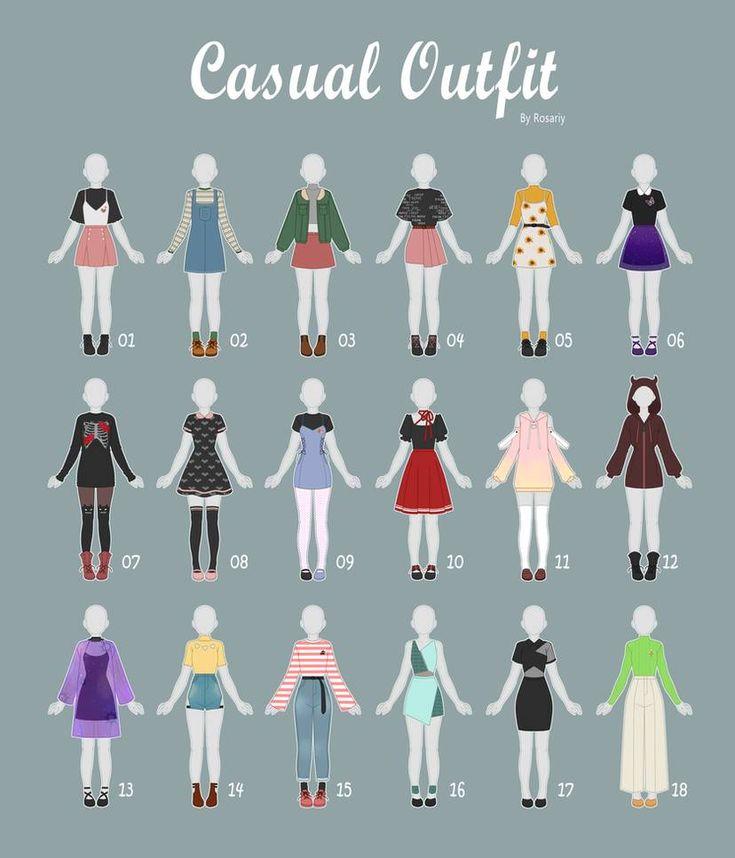 (GESCHLOSSEN) LÄSSIGES Outfit Nimmt 38 von Rosariy an
