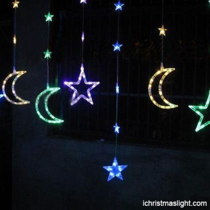 Multicolor Lighted Hanging Home Decoration Ramadan