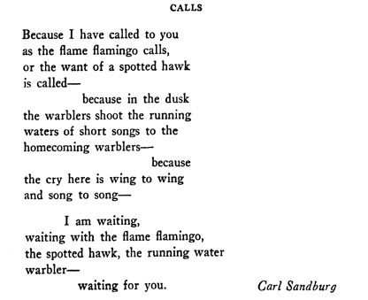 The life and poetry of carl sandburg