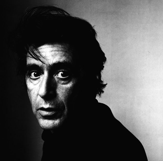 vintage everyday: 30 Extraordinary Black and White Portraits of Celebrities… - Al Pacino