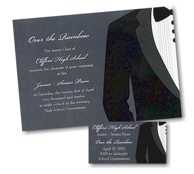 teens prom invitation - 658×590