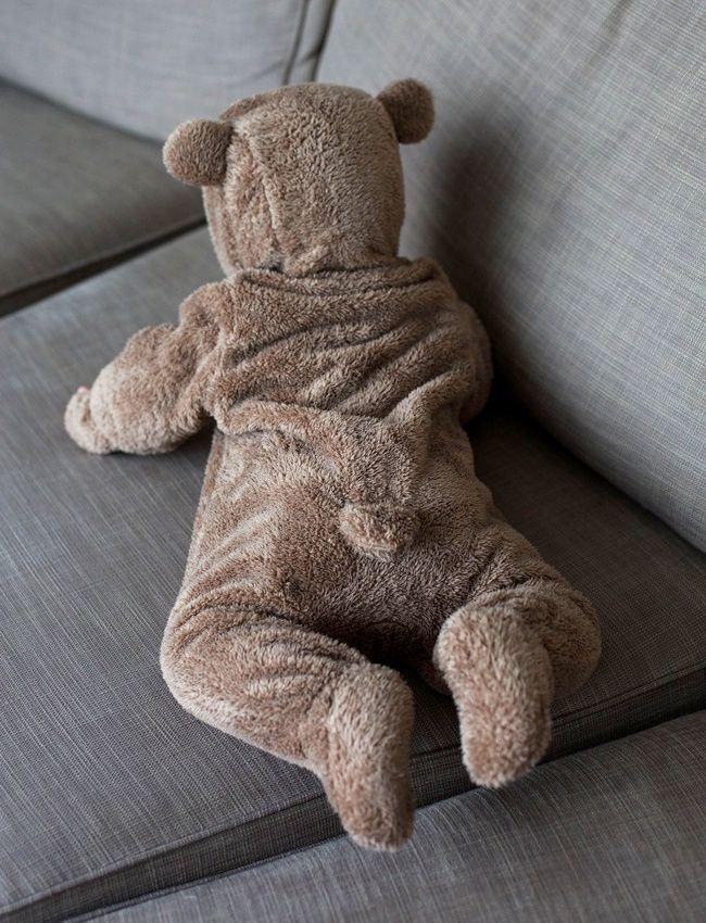 Voilà le genre de pyjama que l'on aimerait trouver en taille adulte ! (photo Make It Last)