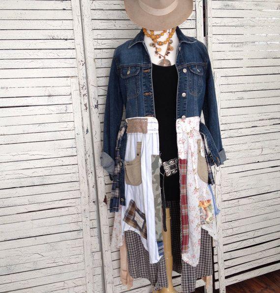 Prairie elegante capa S/M los pantalones vaqueros por AnikaDesigns