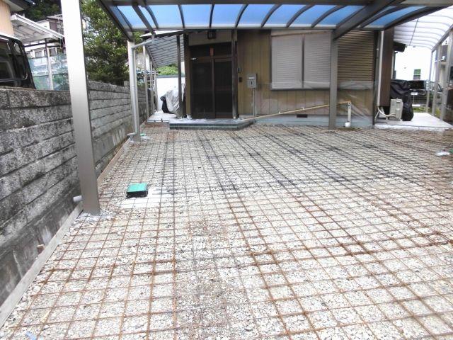 車2台分 20 30m2の土間コンクリートの工事相場 土間コンクリート コンクリート コンクリートの庭