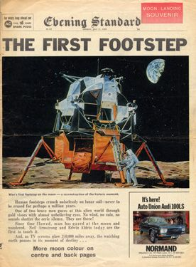 July 20, 1969: Man lands on the #Moon. #space #astronomy