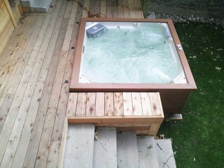 49 best Creative Hot Tub Installations images on Pinterest ...