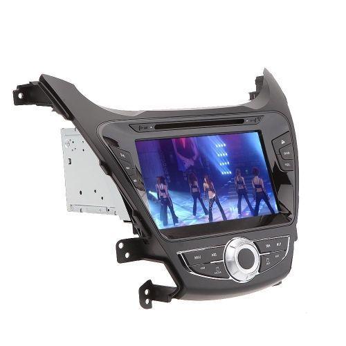 8 Car DVD Player GPS Navigation in Dash Car Radio Double 2 Din Car PC Stereo Head Unit for Hyundai Elantra 2011 2012 2013 +Free Map +Free Card