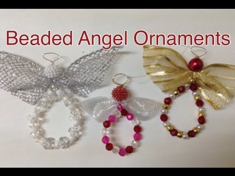 Beaded Angel Ornament, My Crafts and DIY Projects