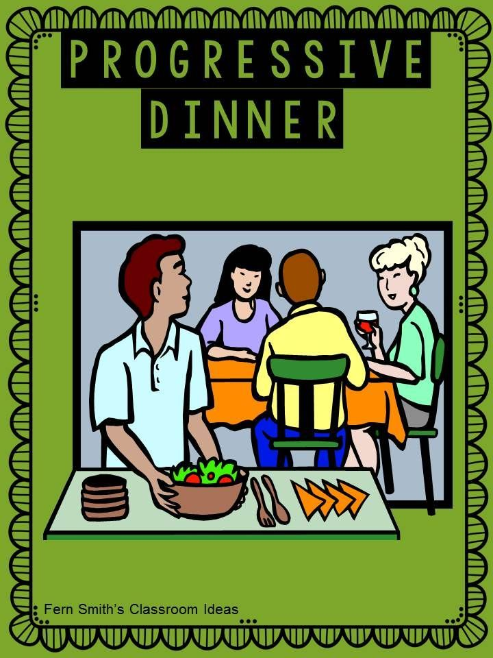 Tuesday Teacher Tips: Teacher Team Building - Have you ever held a progressive dinner with your colleagues? Looking for team building ideas? Check out this blog posts for ideas.