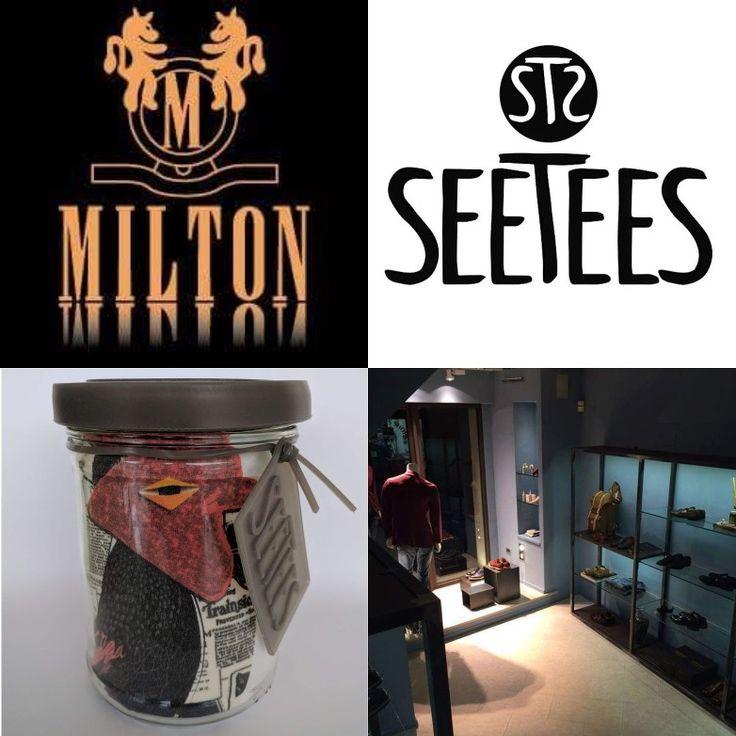 Le T-Shirt Seetees raccontano storie e cultura attraverso le immagini.  Scoprite la collezione AW17 Dadaunpò da Settembre da  Milton Uomo ad Ancona.