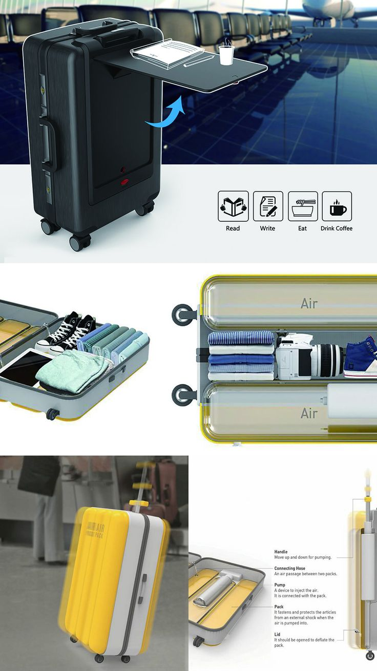A CHECK AND CARRY-ON FOR SERIOUS TRAVELERS | Read Full Story at Yanko Design