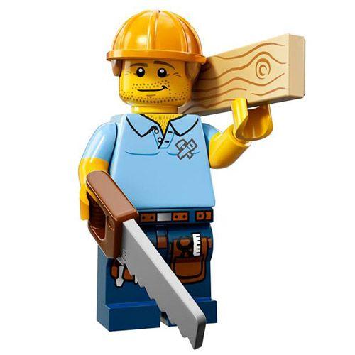 LEGO Minifigures Series 13 (9) Capenter – Chú thợ mộc