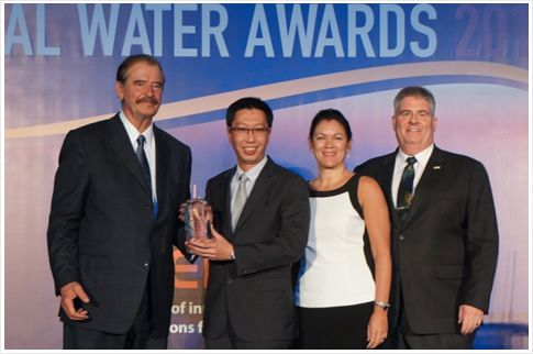 PUB, Singapore's national water agency's Active, Beautiful, Clean Waters (ABC Waters) Programme has been conferred the Utility Performance Initiative of the Year at the Global Water Awards 2013 presented at the Global Water Summit in Seville, Spain. This is an award that recognises a water utility's commitment to improving the long-term performance of water services to the public through an initiative.