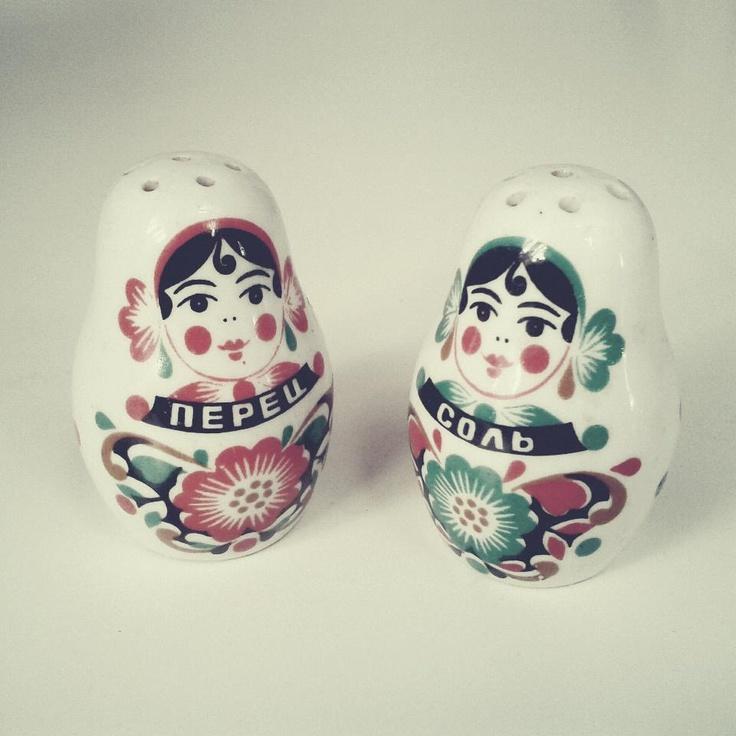Russian version of Salt'n'Pepa, bought on flea market in Kraków, Poland  #wysokipolysk #fleastyle