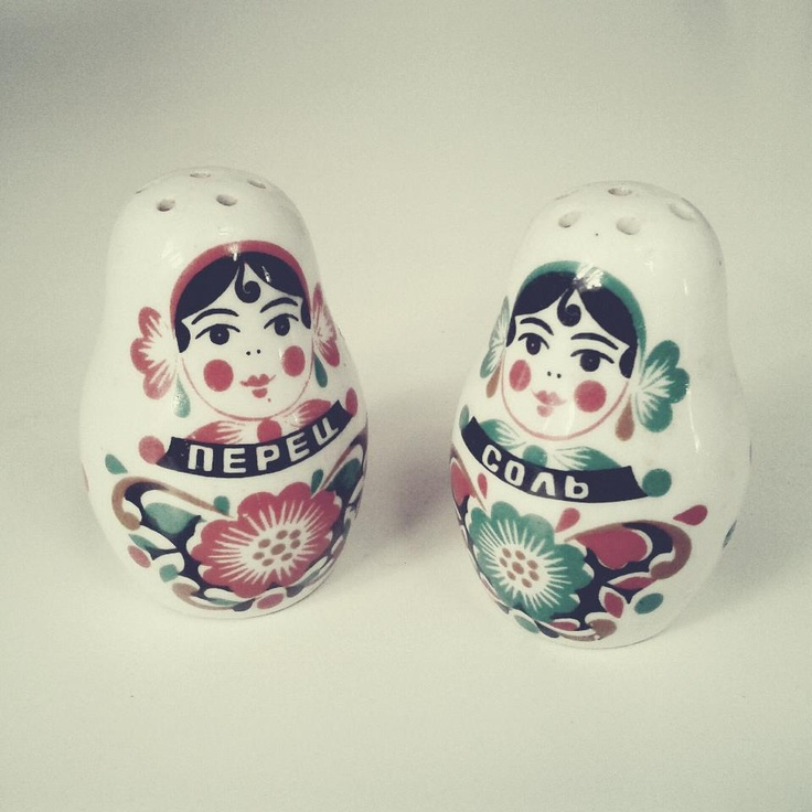 Russian version of Salt'n'Pepa, bought on flea market in Kraków, Poland  #wysokipolysk #fleastyle