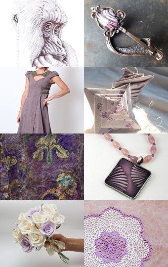 lavender-ametyst by mapiebijoux on Etsy--Pinned with TreasuryPin.com