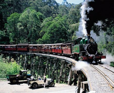 Puffing Billy Railway – Riding on Australian History