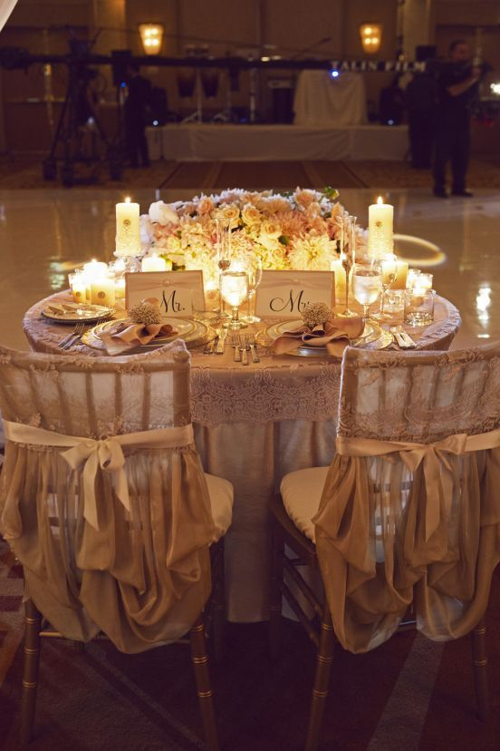 a sweetheart table is the main place at your wedding reception and it should excite and highlight your style and theme make an accent on your sweetheart