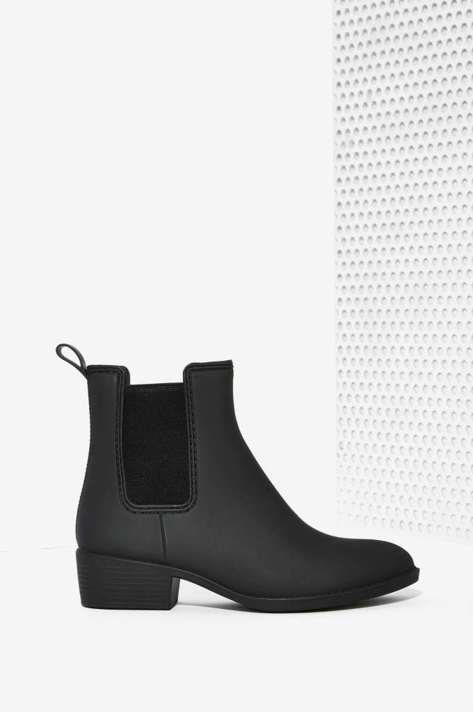 Jeffrey Campbell Stormy Chelsea Rain Boot - Matte | Shop Shoes at Nasty Gal!