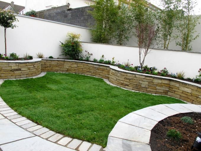 Even a modest sized lawn can be a garden feature