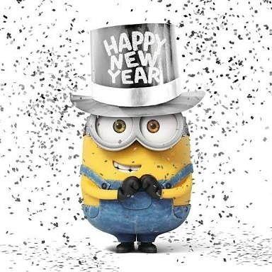 "1,607 Likes, 10 Comments - Minions India ™ (@minions.india) on Instagram: ""Happy new year!!!! #minions #minionsindia"""