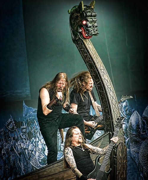 Amon Amarth, Viking Metal - Love this BAND!