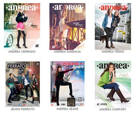 Catalogos Andrea  otoño invierno 2014 2015