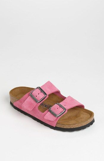 Birkenstock 'Arizona' Soft Footbed Suede Sandal (Women) | Current Lust-Have on www.soieagency.com