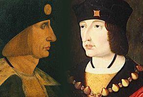 Herrenhaar und Kopfbedeckung während der italienischen Renaissance