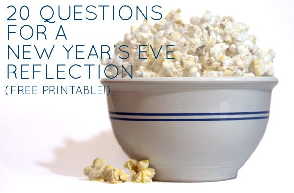20 questions for reflecting on your 2012