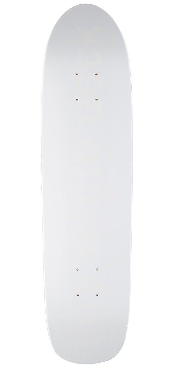 """Enjoi Tiny White R7 Skateboard Deck - White - 7.75"""""""