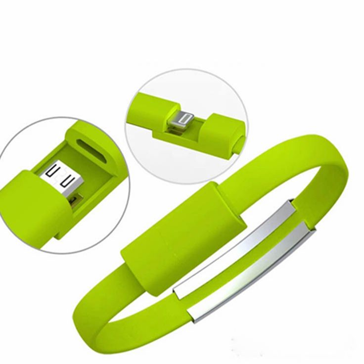 5Pcs/Lot Multi-function Stylish Portable Wristband Style Bracelet Mobile Phone Micro USB Data Cable Cord Charger For Android(China (Mainland))