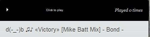 d(-_-)b ♫♪   «Victory» [Mike Batt Mix] - Bond -  Click to play. Enjoy..!!