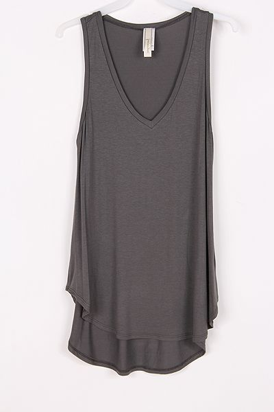 Relaxed Aden Top in Charcoal