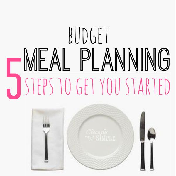 budget meal planning. Much simpler than most I've come across.