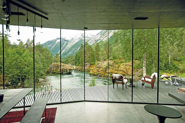 The Juvet Landscape Hotel's