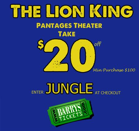 Cheap Lion King Tickets Chicago