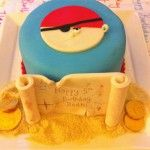 Easy Pirate Cake tutorial