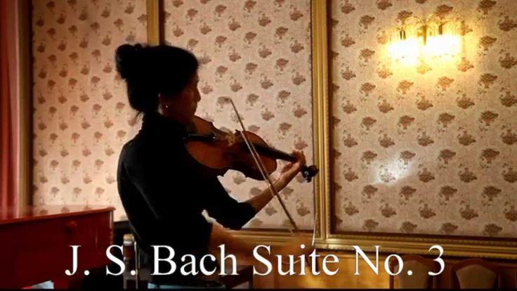 Johann Sebastian Bach Suita No 3 Natalia Ivanova plays