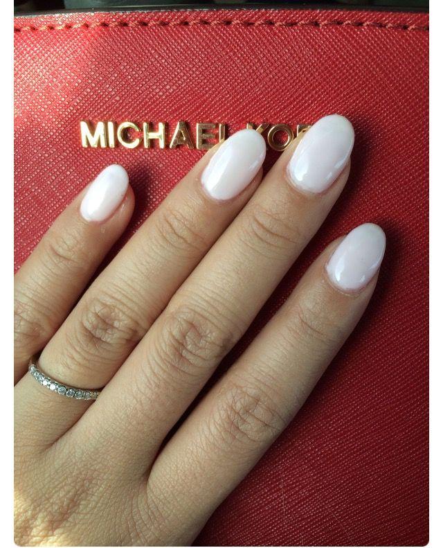 #nails #white #round