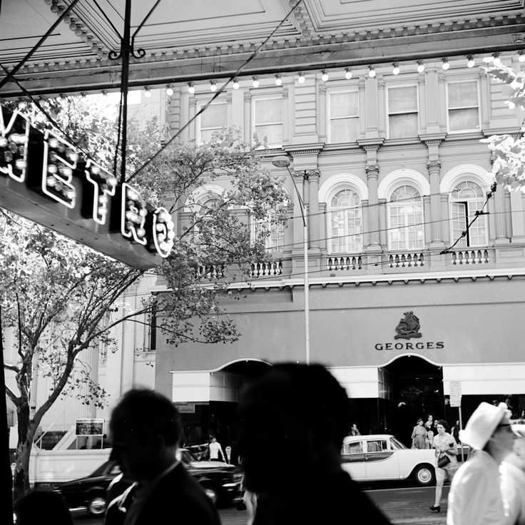 Georges, Collins Street, Melbourne. Circa 1969.