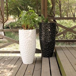 Garden design garden design with garden plant pots ebay with garden garden design with large dia round black indoor outdoor planter home garden plant with small garden workwithnaturefo