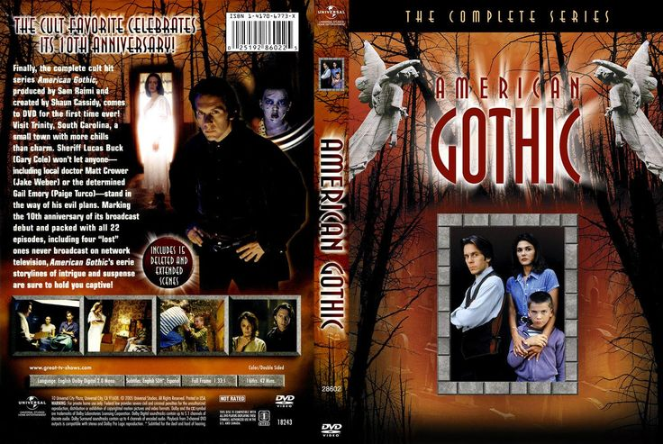 American Gothic TV Series | American Gothic (1995) – Tv Series – front dvd cover