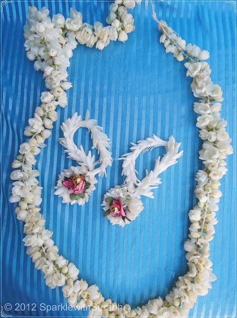 Floral Jewellery from Malai Mandir..