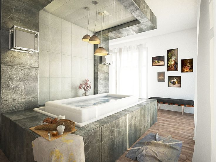 Bathroom Render Design. Do you need architectural visualization and rendering services? Get dozens of offers in no time, collaborate with the best artists online and get the best price for you!! Check out www.easyrender.com #easyrender #architect  #architecture #render #visualisation #lovearchitecture #bathroom