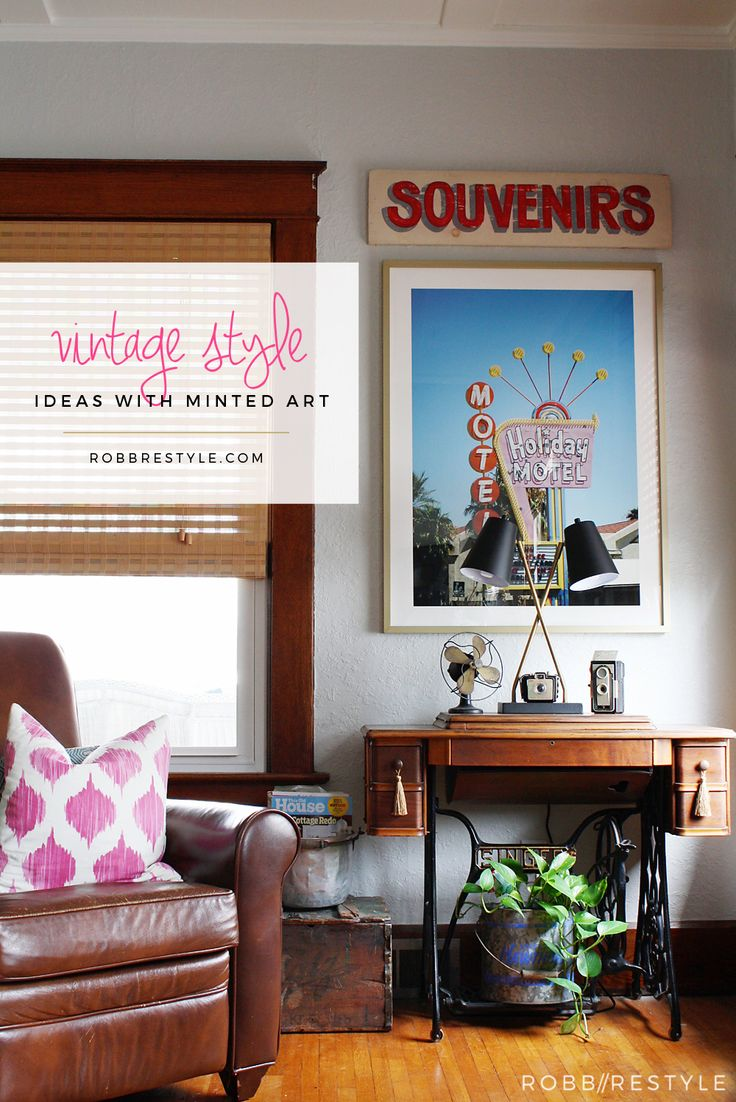 Emily brooks uncovers the bathroom basics that are vital to know - Vintage Style Ideas With Art From Minted Com