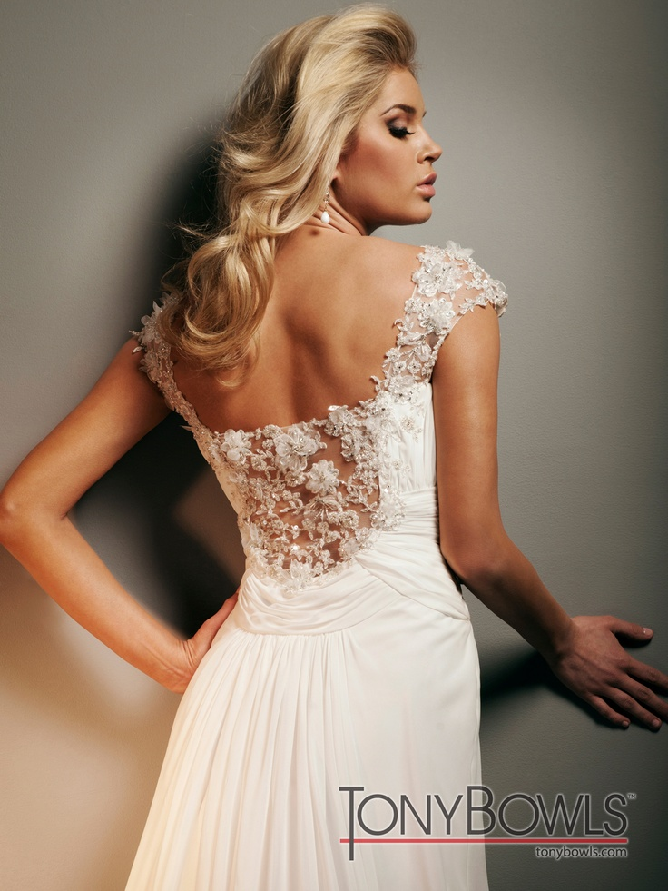 7 best Tony Bowls Wedding Gowns images on Pinterest | Wedding frocks ...