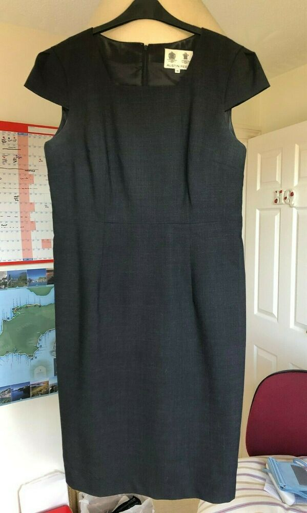 Austin Reed Dress Size 16 Charcoal Grey Fashion Clothing Shoes Accessories Womensclothing Dresses Ebay Link Size 16 Dresses Dresses Midi Dresses Uk