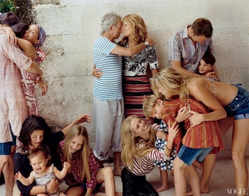 Anything Goes: Keith Richards and Patti Hansen - Magazine - Vogue